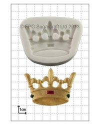 image: Crown silicone mould