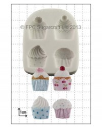 image: Cupcakes (4) silicone mould