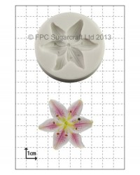 image: Lily silicone mould