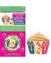 image: Jandal Jandals standard cupcake papers (Heavy Duty)