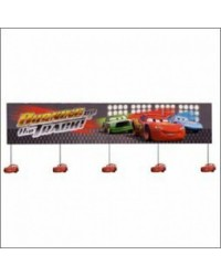 image: Cars Lightning McQueen party Banner #1