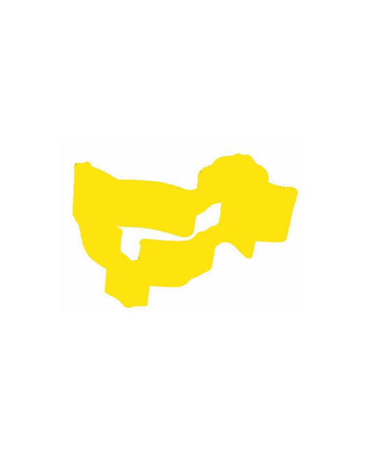 image: Duck yellow metal cookie cutter