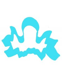 image: Octopus blue metal cookie cutter
