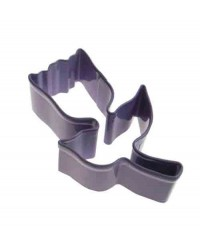 image: Tulip purple metal cookie cutter