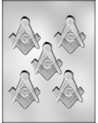 image: Masonic emblem 3 inch chocolate mould