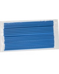 image: 6 inch DARK BLUE lollipop sticks (25)