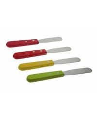 image: Coloured handle spatula straight Palette Knife