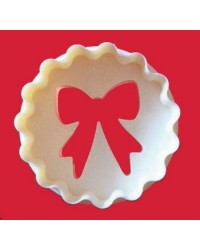 image: FMM cupcake cutter Bow & scallop