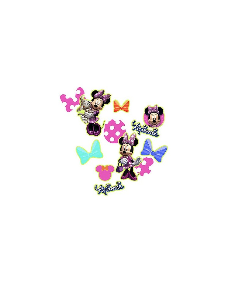 image: Minnie Mouse party confetti