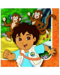 image: Go Diego Go party Beverage napkins (16)