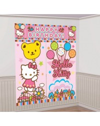 image: Hello Kitty Wall decorating kit
