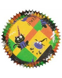 image: Happy Haunters mini baking cups cupcake papers