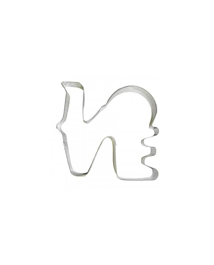 image: LOVE cookie cutter