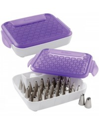 image: Icing tip or nozzle organiser box