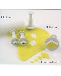 image: PME plunger cutter set 4 Diamond