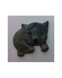 image: Wombat Australian animal silicone mould