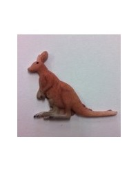 image: Kangaroo Australian animal silicone mould