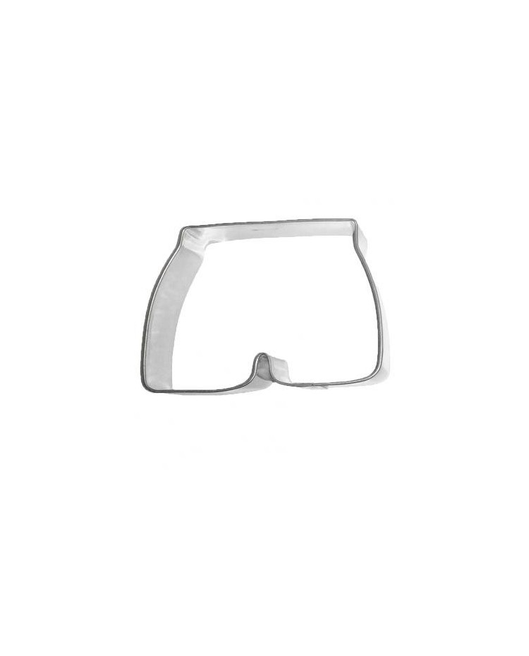 image: Swimming trunks or shorts cookie cutter