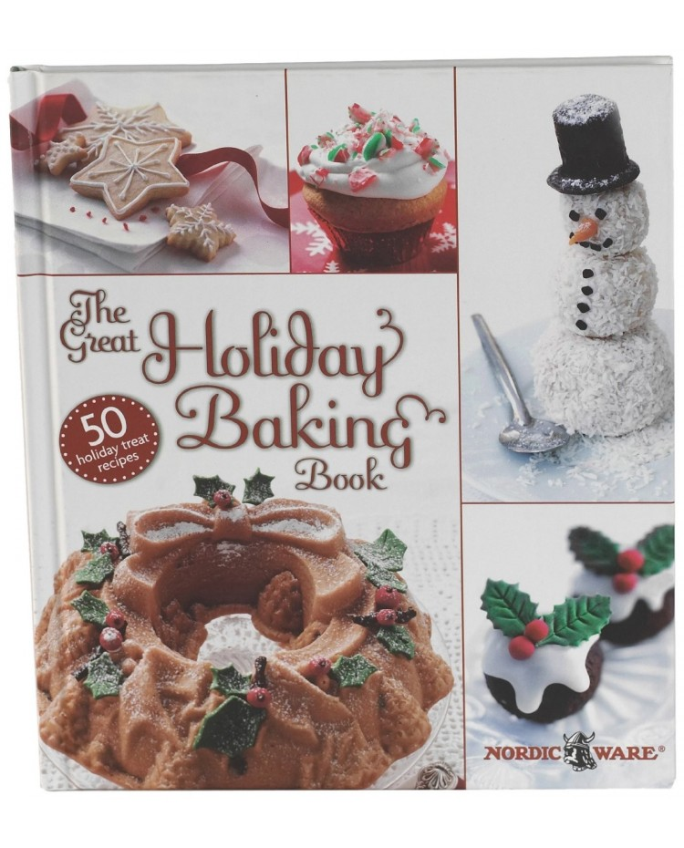 image: Nordic Ware The Great holiday baking book