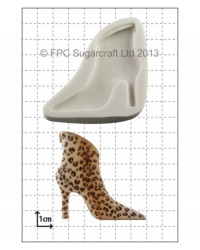 image: High Heel Shoe - BOOT - silicone mould