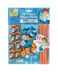 image: Go Diego Go 48 piece favour pack