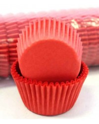 image: Red standard baking cups cupcake papers Sleeve 500