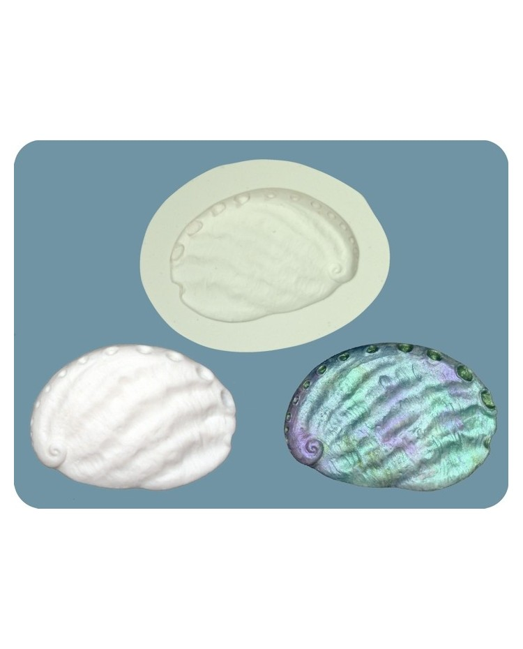 image: Paua Shell LARGE silicone mould