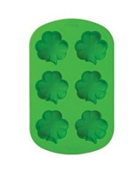 image: Silicone Mini Shamrock Mould
