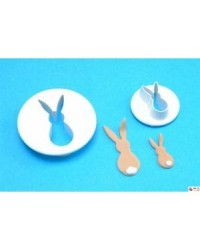 image: PME Rabbit or bunny cutter set 2