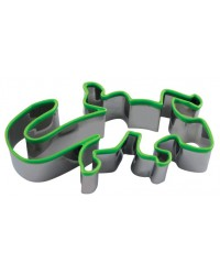 image: Tuatara or lizard gecko cookie cutter green comfort grip