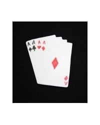 image: Playing card aces silicone mould 70mm