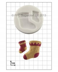 image: Christmas Stocking silicone mould