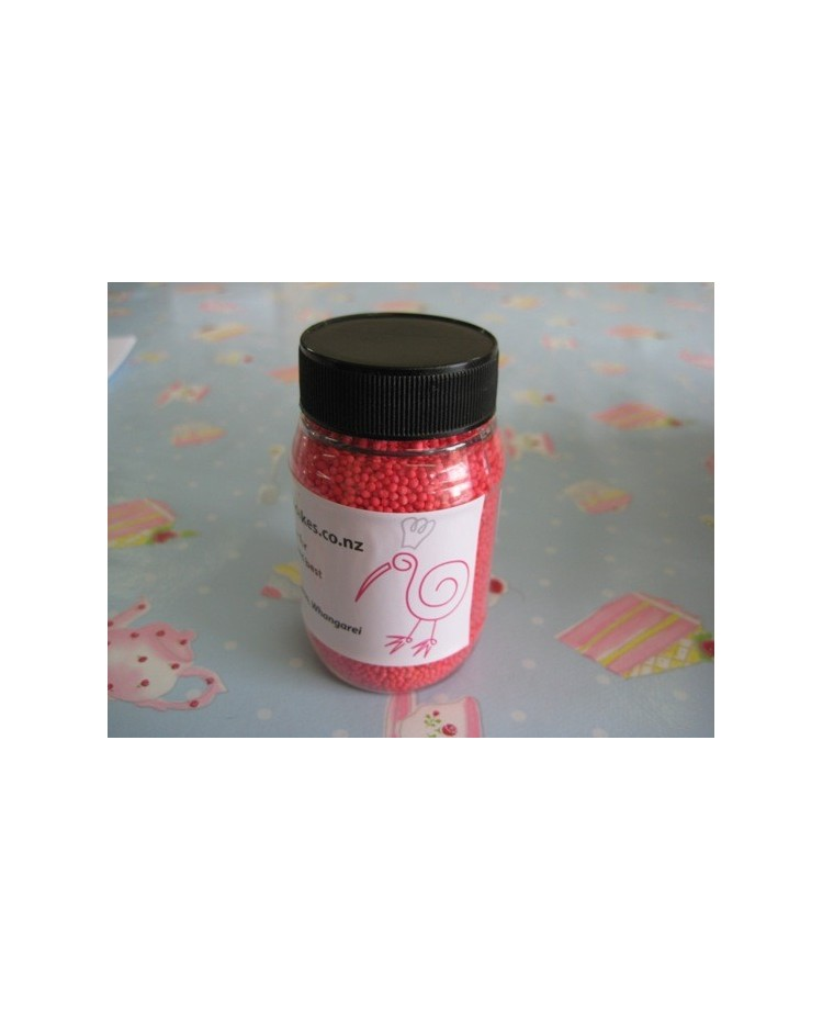 image: Non pareils Candy Red Hundreds and Thousands 100s & 1000s