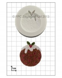 image: Christmas Pudding silicone mould