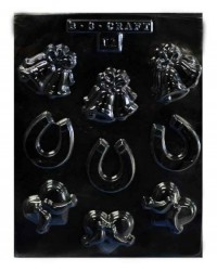 image: Wedding icons assorted chocolate mould