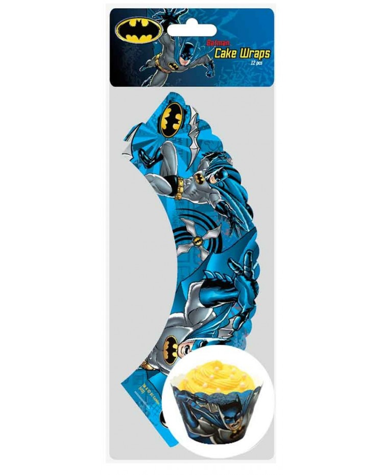 image: Cupcake wrappers Batman (12)