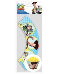 image: Cupcake wrappers Toy Story