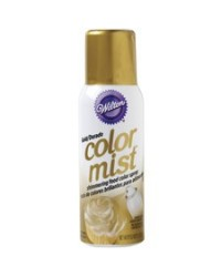 image: Gold colormist lustre spray colour  Restricted delivery area