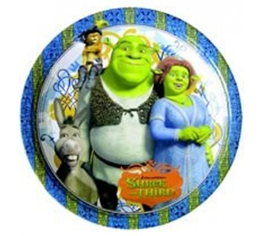 Shrek Party ware. Candles plates, cups, serviettes & party blowers