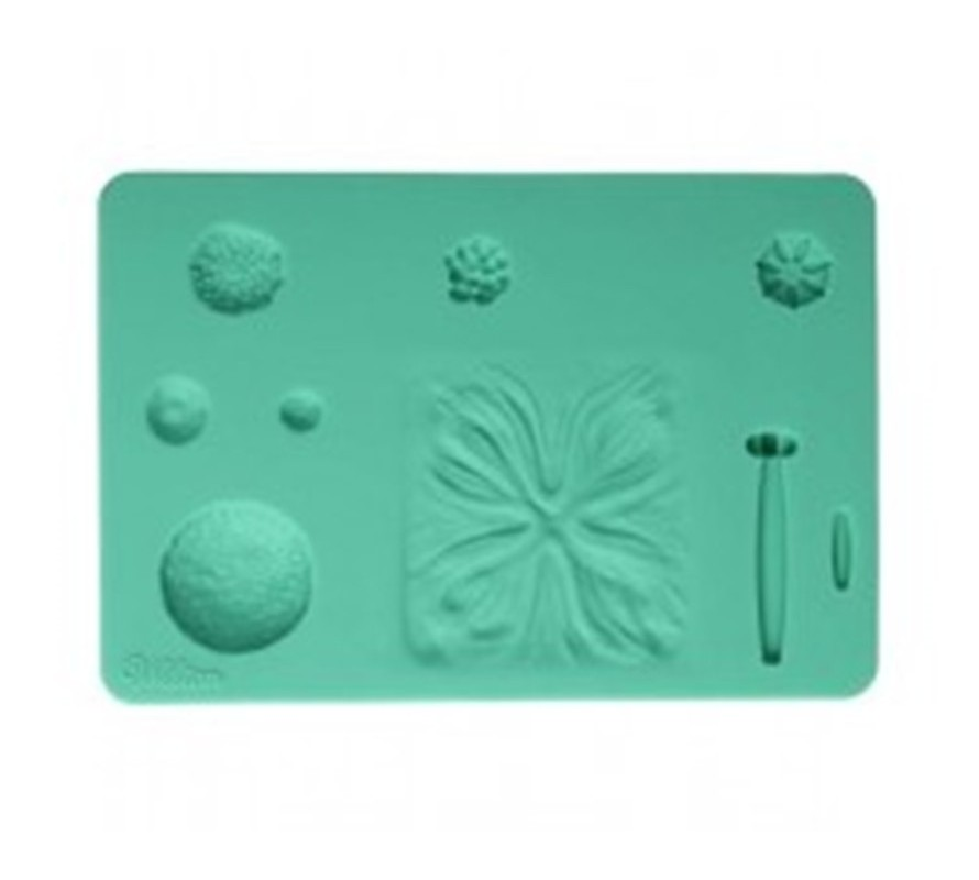 Silicone veiners for sugarcraft icing & cold porecelain flowers & leaf