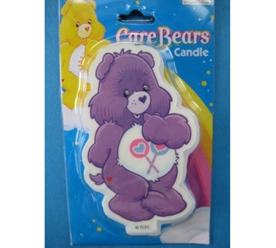 Fun Care Bears candles and chocolate moulds for cake decorating