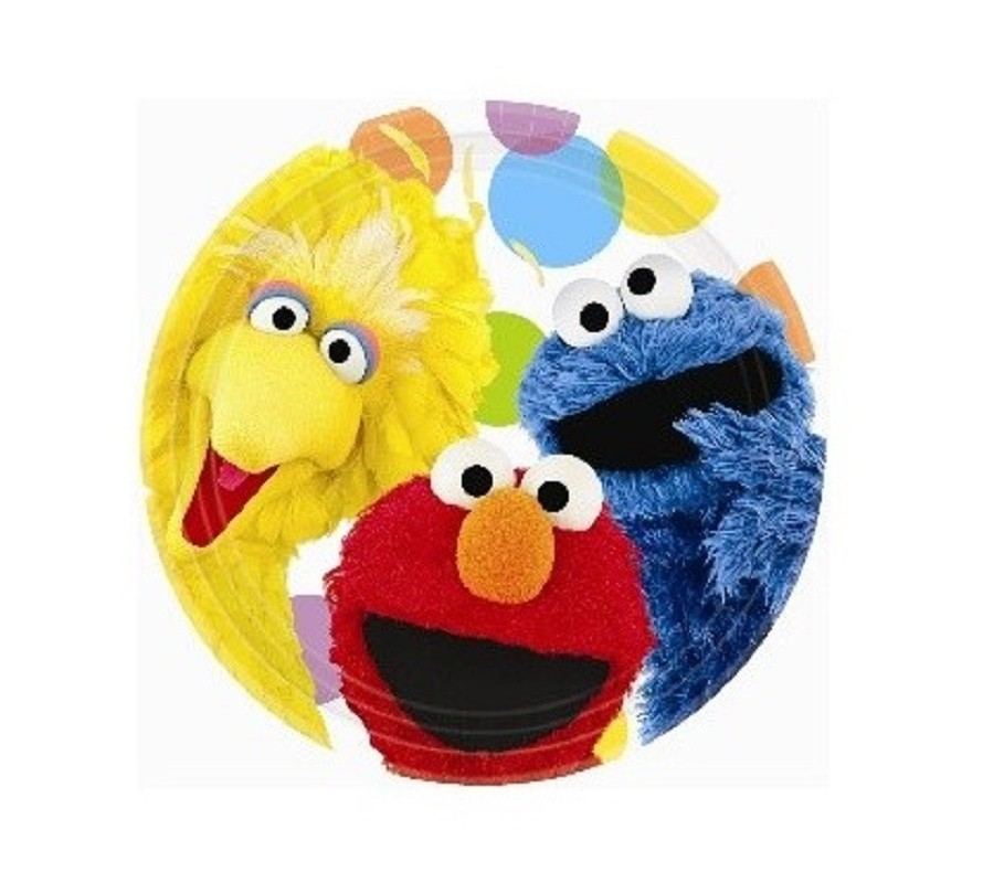 Sesame Street & Elmo party ware & cake decorating supplies