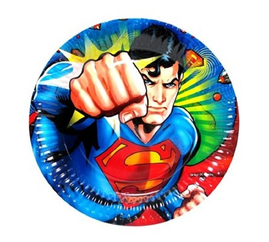 Superman edible cake icing images cupcake toppers & Party Ware