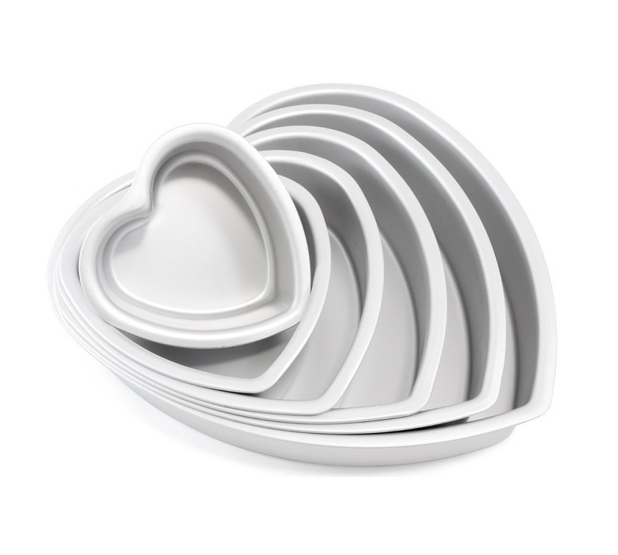 Heart shaped pans