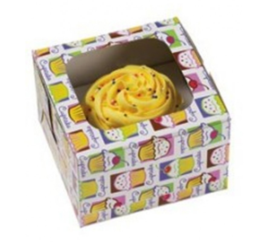 Cupcake packaging bags & boxes