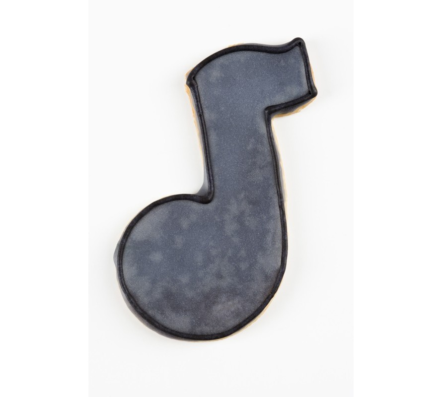 Musical themed & music note shape cookie cutters