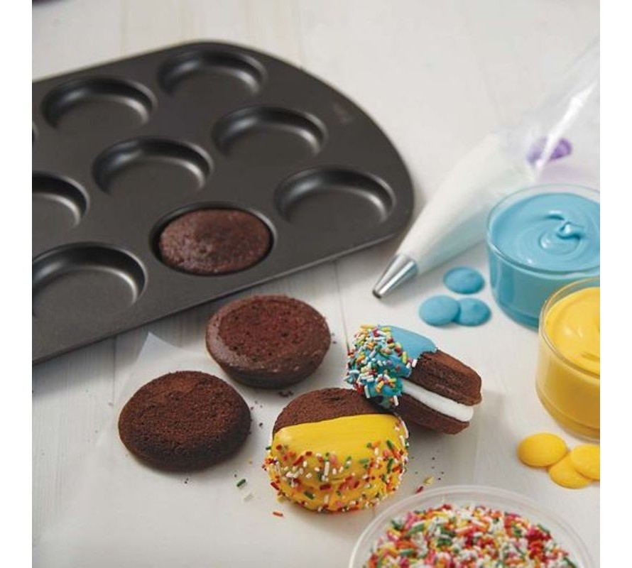 Whoopie pie baking pans FUN shapes