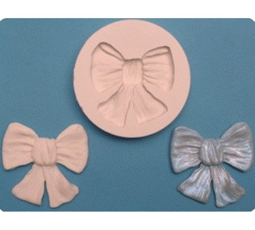 Decorative silicone moulds for fondant and gumpaste icing