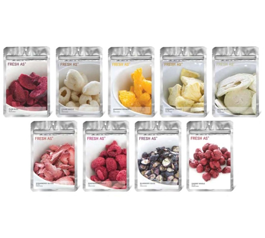 Freeze dried fruit whole & powders