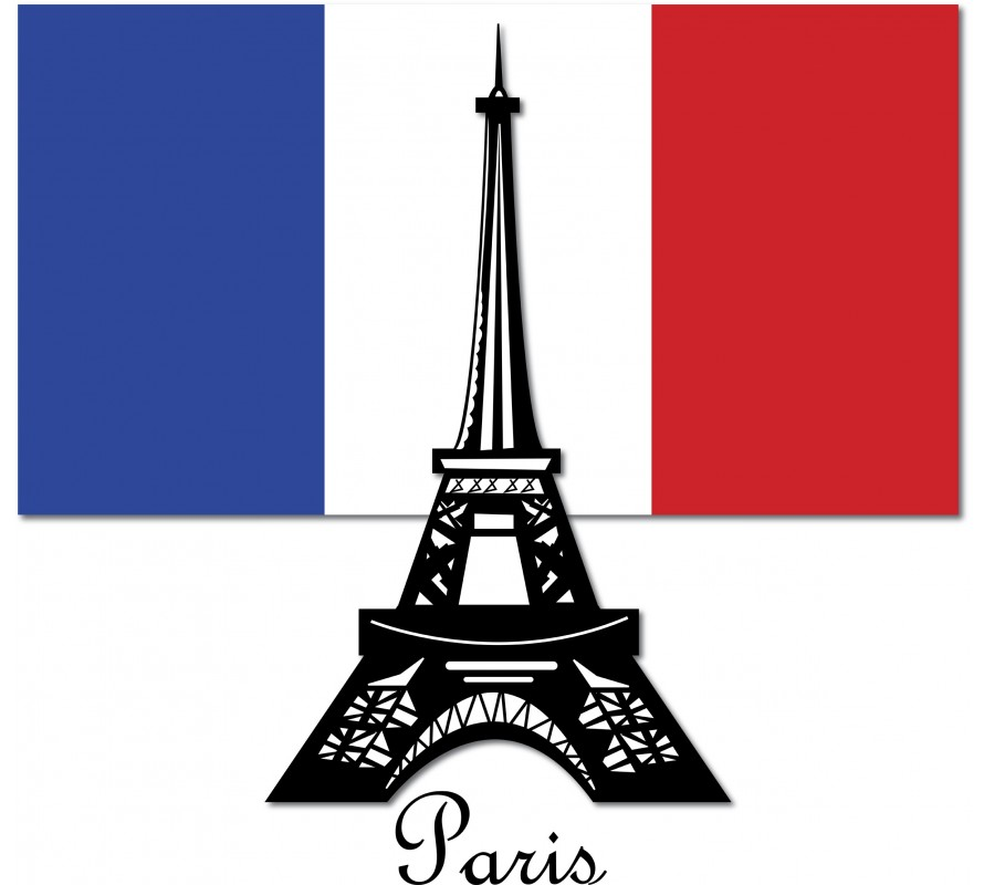 Paris themed cake decorating supplies. For cookies, cupcakes & more